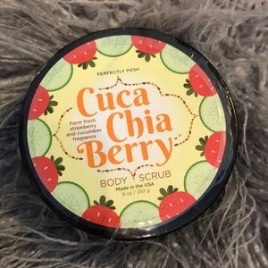 Posh cuca chia berry body scrub